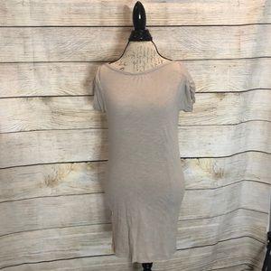 Dresses & Skirts - Cream thin cotton dress